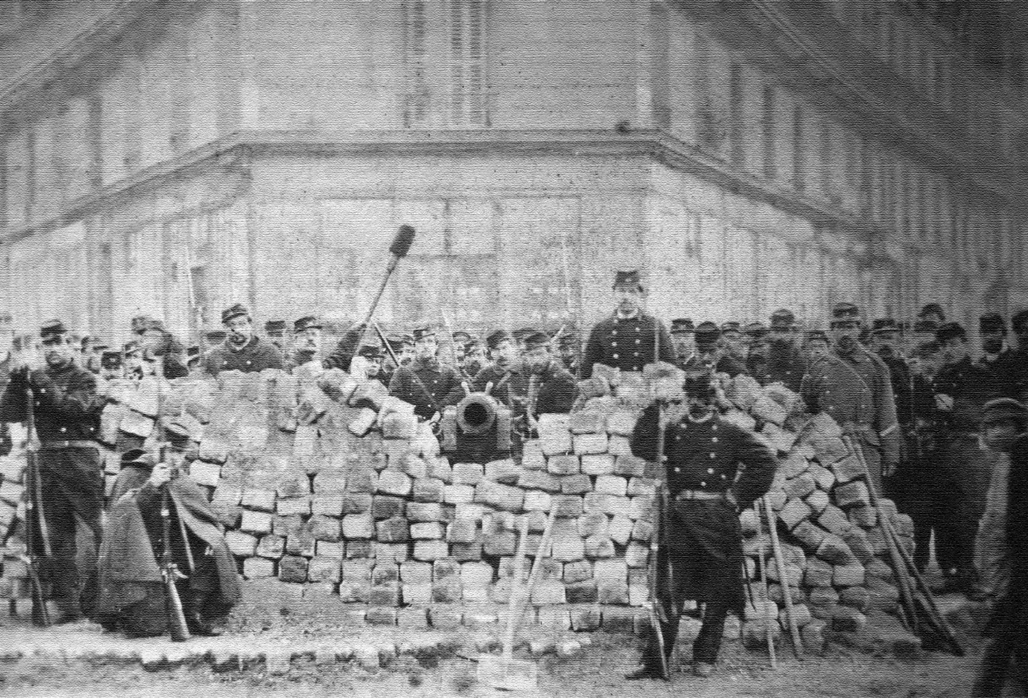 Barricade Voltaire Richard Lenoir La Commune Paris 1871